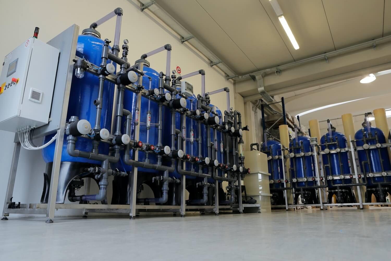 Impianti di trattamento acque di processo