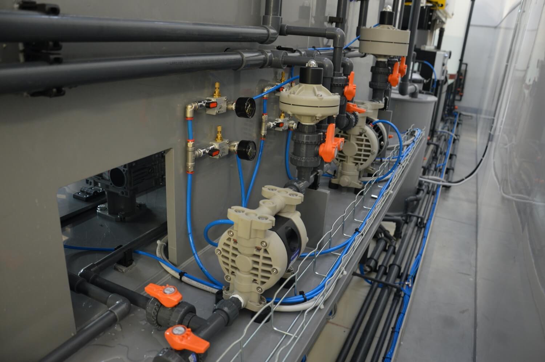 Impianti di trattamento acque di vibratura