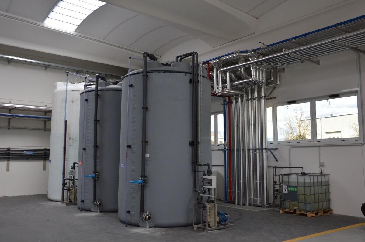 Impianti di trattamento acque reflue