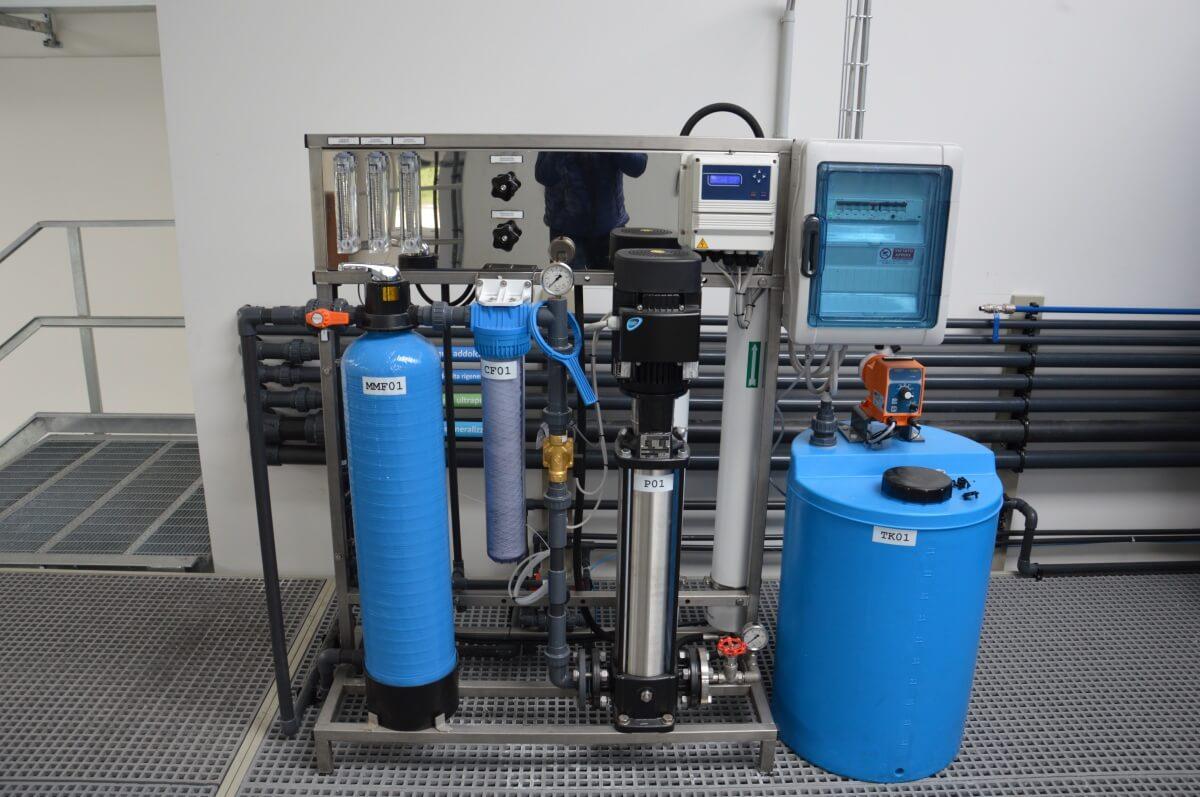 Impianti di trattamento acque speciali
